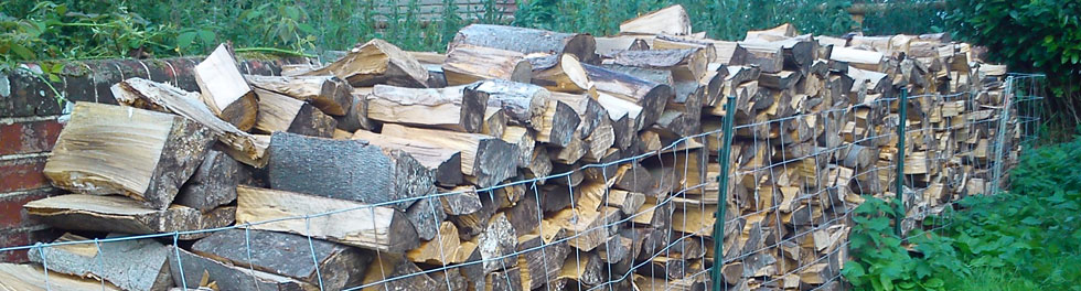 Split Logs In Storage, produced by Marks Log Splitting Service